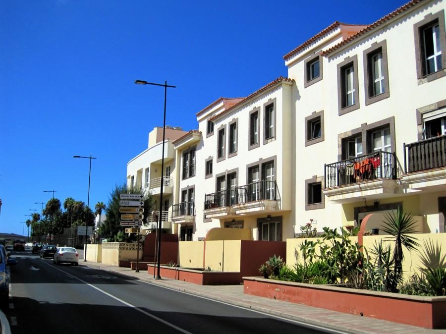 Miejscowość Corralejo na wyspie Fuerteventura